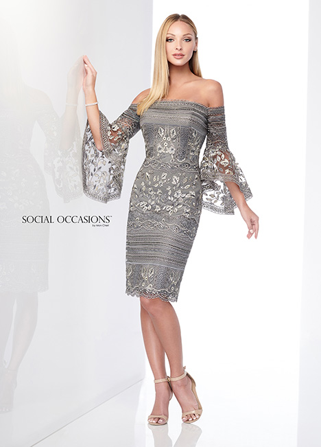 218801 gown from the 2018 Mon Cheri: Social Occasions collection, as seen on Bride.Canada