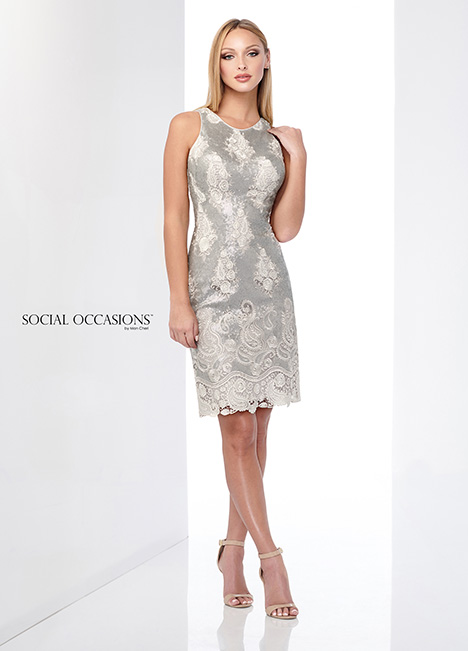 218803 gown from the 2018 Mon Cheri: Social Occasions collection, as seen on Bride.Canada