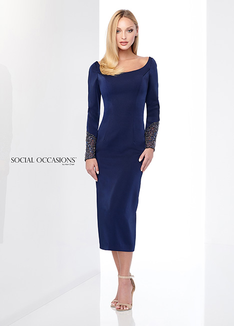 218807 gown from the 2018 Mon Cheri: Social Occasions collection, as seen on Bride.Canada