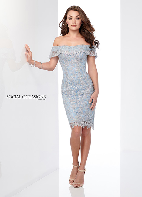 218810 gown from the 2018 Mon Cheri: Social Occasions collection, as seen on Bride.Canada