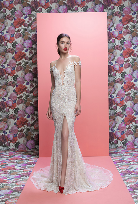 Marleigh gown from the 2019 Galia Lahav Couture collection, as seen on Bride.Canada