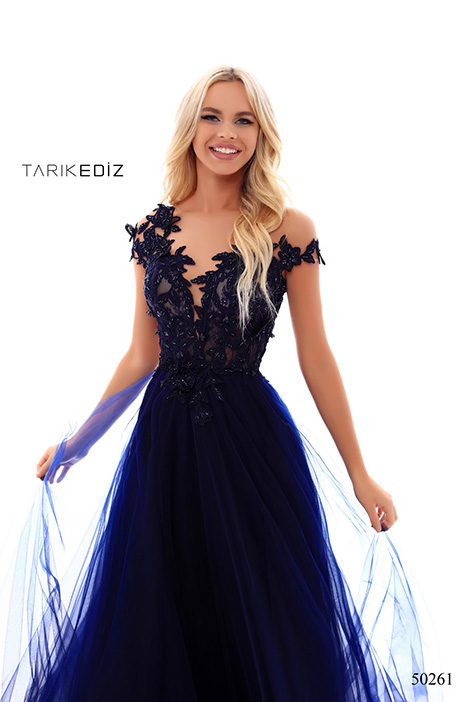 (50261) TELMA (2) gown from the 2018 Tarik Ediz: Prom collection, as seen on Bride.Canada