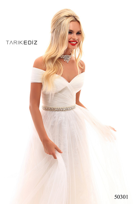(50301) MARILLA gown from the 2018 Tarik Ediz: Prom collection, as seen on Bride.Canada