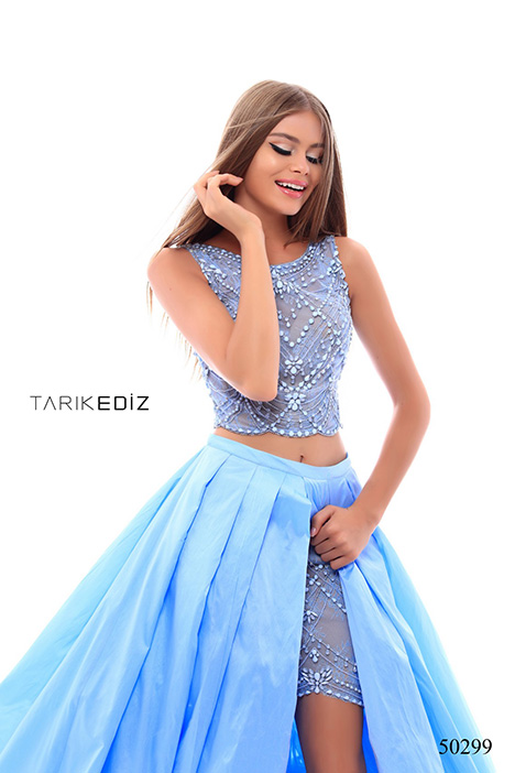 (50299) MADDY (2) gown from the 2018 Tarik Ediz: Prom collection, as seen on Bride.Canada