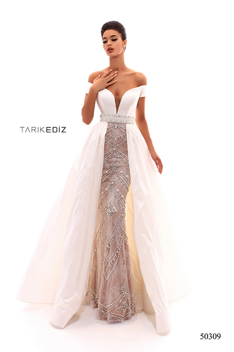 (50309) REAL gown from the 2018 Tarik Ediz: Prom collection, as seen on Bride.Canada