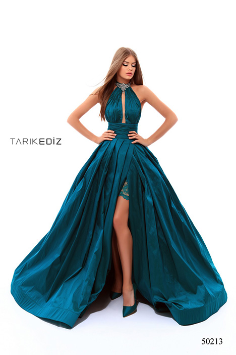 50213 (2) gown from the 2018 Tarik Ediz: Prom collection, as seen on Bride.Canada