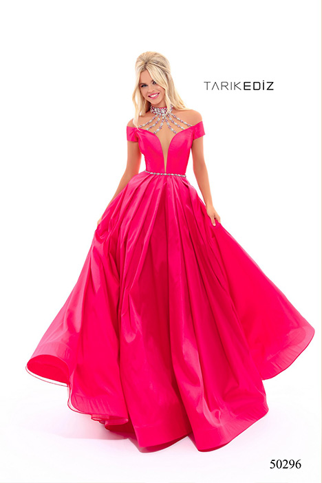 (50296) KATHY gown from the 2018 Tarik Ediz: Prom collection, as seen on Bride.Canada
