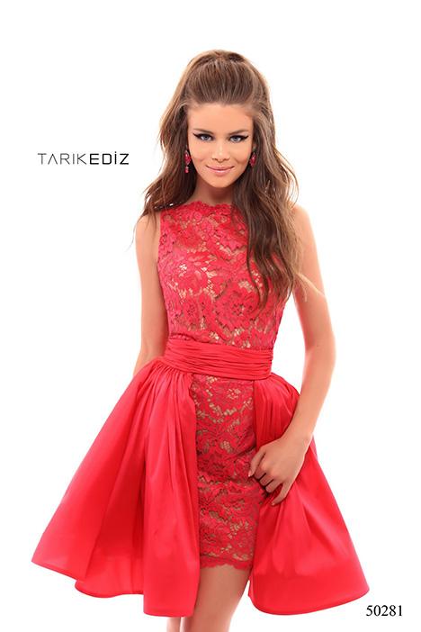 (50281) BAMBINO (+taffeta skirt) gown from the 2018 Tarik Ediz: Prom collection, as seen on Bride.Canada