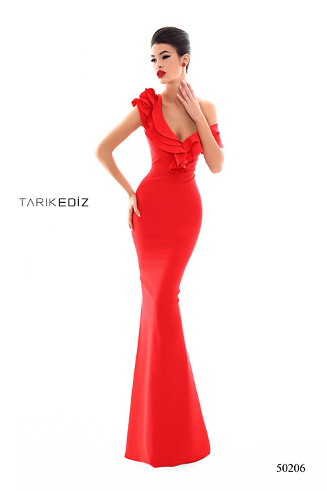 (50206) gown from the 2018 Tarik Ediz: Prom collection, as seen on Bride.Canada