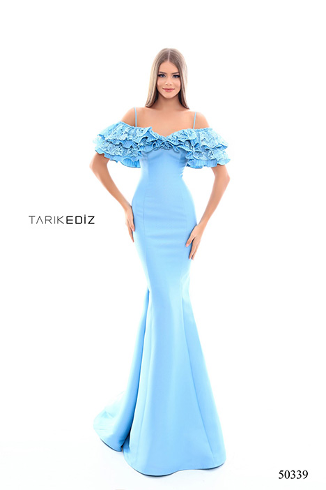 (50339) TENDANCE (2) gown from the 2018 Tarik Ediz: Prom collection, as seen on Bride.Canada