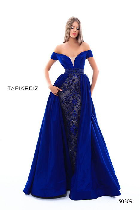 (50309) REAL (3) gown from the 2018 Tarik Ediz: Prom collection, as seen on Bride.Canada