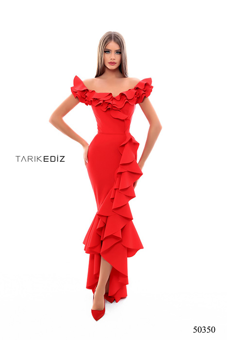 (50350) LAZZARO gown from the 2018 Tarik Ediz: Prom collection, as seen on Bride.Canada