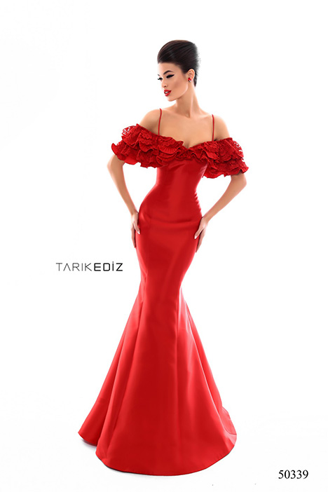 (50339) TENDANCE (3) gown from the 2018 Tarik Ediz: Prom collection, as seen on Bride.Canada