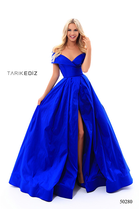 (50280) BADE (2) gown from the 2018 Tarik Ediz: Prom collection, as seen on Bride.Canada