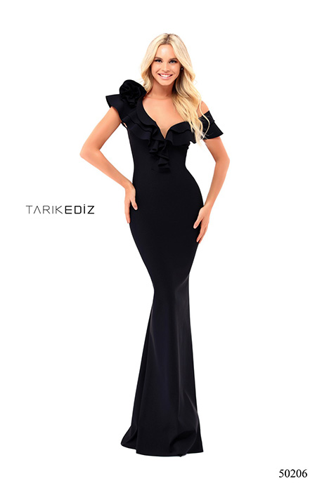 50206 gown from the 2018 Tarik Ediz: Prom collection, as seen on Bride.Canada