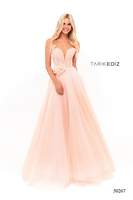 (50267) WUZZY gown from the 2018 Tarik Ediz: Prom collection, as seen on Bride.Canada