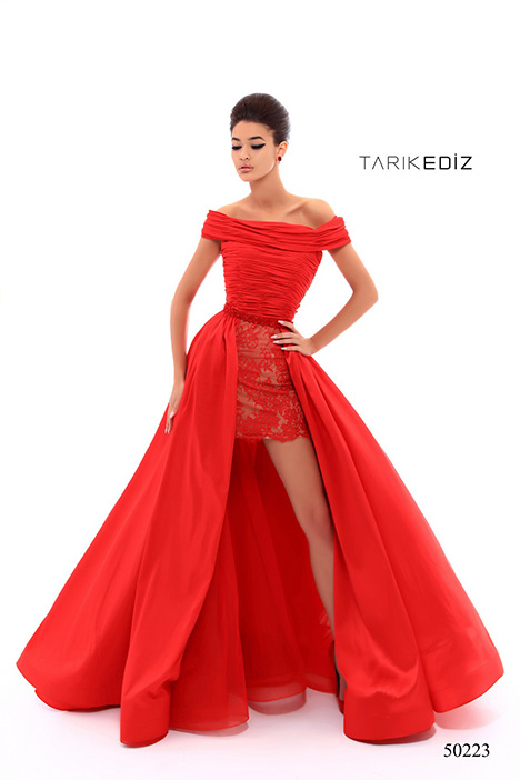 (50223) GEORGIA gown from the 2018 Tarik Ediz: Prom collection, as seen on Bride.Canada