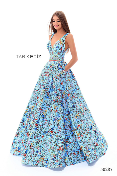 (50287) DUBAI (3) gown from the 2018 Tarik Ediz: Prom collection, as seen on Bride.Canada