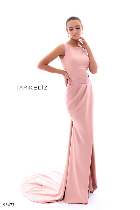 93473 gown from the 2018 Tarik Ediz: Evening Dress collection, as seen on Bride.Canada
