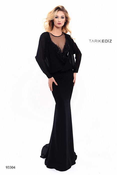 93304 (2) gown from the 2018 Tarik Ediz: Evening Dress collection, as seen on Bride.Canada