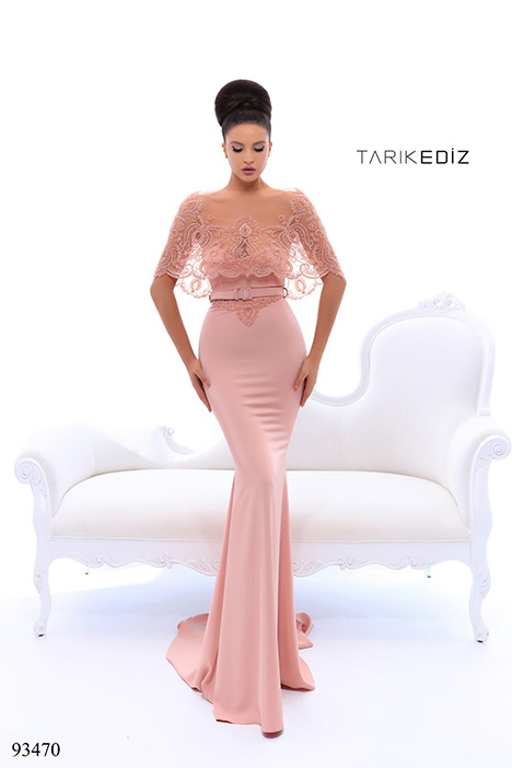 93470 gown from the 2018 Tarik Ediz: Evening Dress collection, as seen on Bride.Canada
