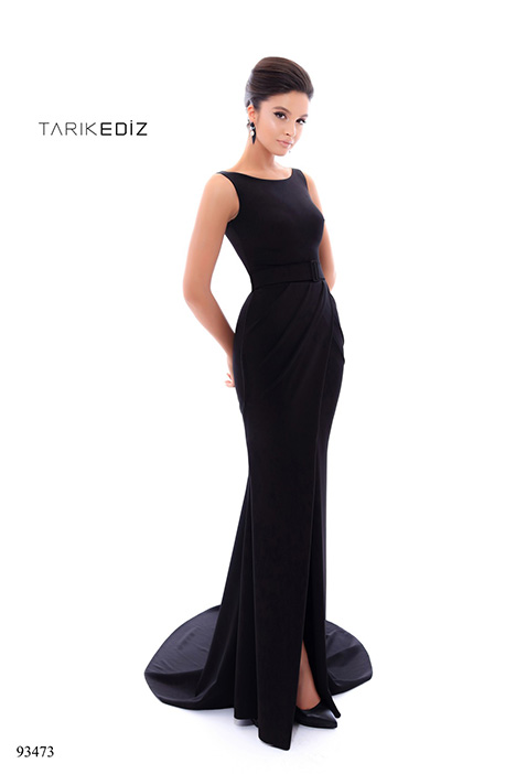 93473 (2) gown from the 2018 Tarik Ediz: Evening Dress collection, as seen on Bride.Canada