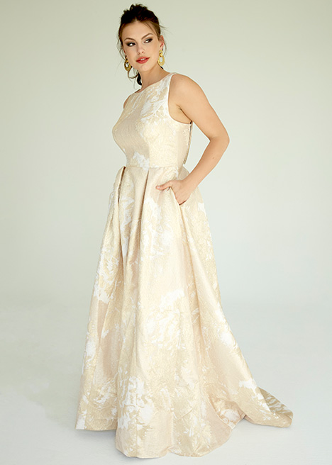 Delevingne gown from the 2019 Ivy & Aster IXA collection, as seen on Bride.Canada