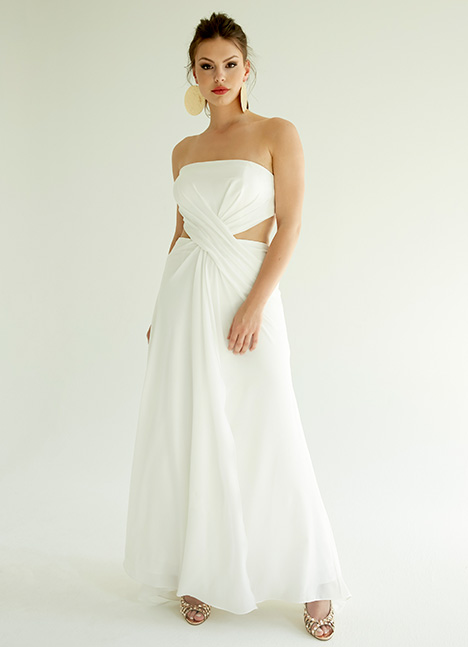 Hailee gown from the 2019 Ivy & Aster IXA collection, as seen on Bride.Canada