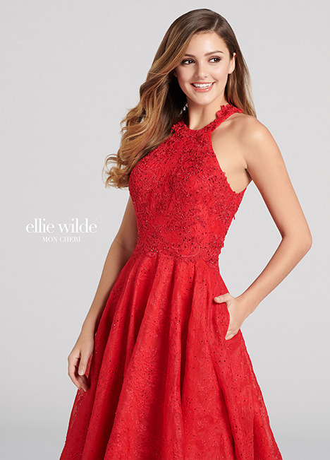EW21814 gown from the 2018 Ellie Wilde collection, as seen on Bride.Canada