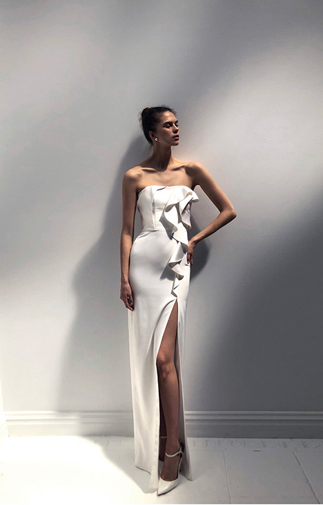 Daisy gown from the 2019 Alon Livne : White collection, as seen on Bride.Canada