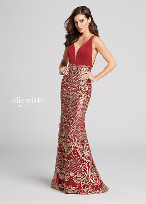 EW21820 gown from the 2018 Ellie Wilde collection, as seen on Bride.Canada