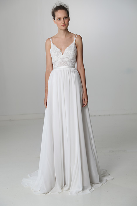 Girly (91705) gown from the 2018 Alyne collection, as seen on Bride.Canada