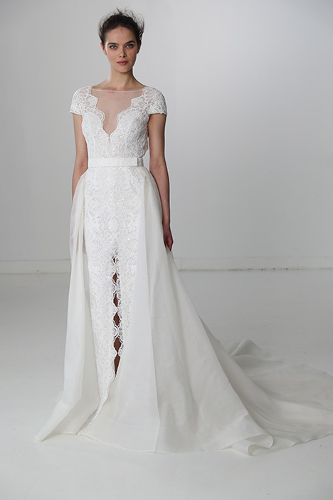 Incredible (91719) gown from the 2018 Alyne collection, as seen on Bride.Canada