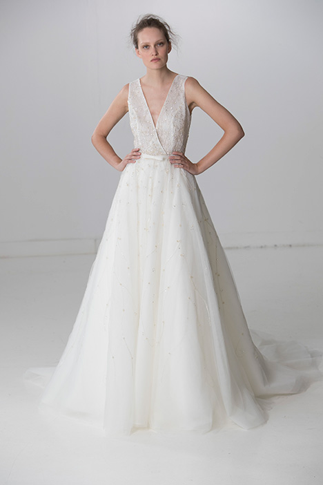 Radiant (91720) gown from the 2018 Alyne collection, as seen on Bride.Canada