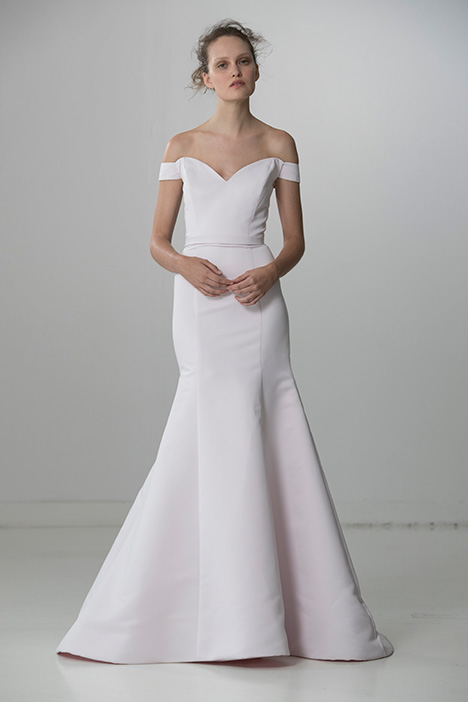 Classy (91729) gown from the 2018 Alyne collection, as seen on Bride.Canada