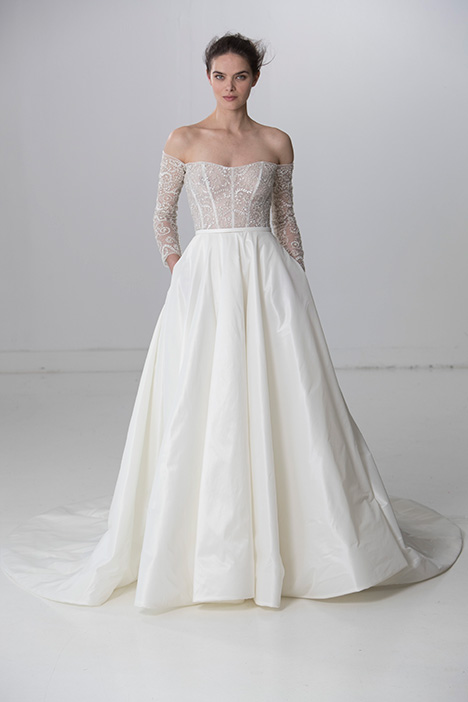 Perfect (91731) gown from the 2018 Alyne collection, as seen on Bride.Canada