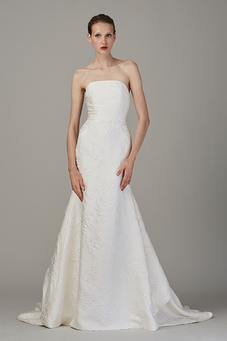 The Dunes gown from the 2018 Lela Rose collection, as seen on Bride.Canada