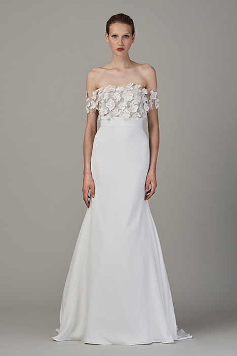 The Isle gown from the 2018 Lela Rose collection, as seen on Bride.Canada