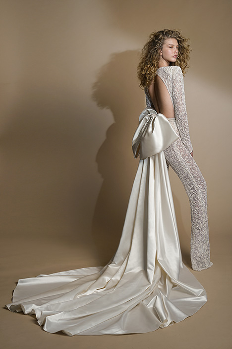 G-109 (back + train) gown from the 2019 GALA by Galia Lahav collection, as seen on Bride.Canada