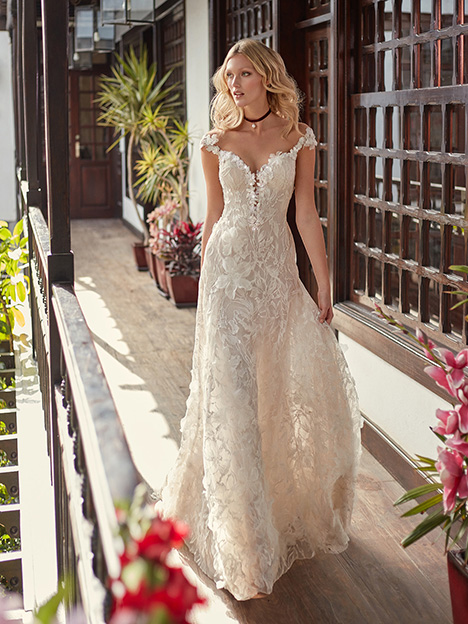 Bryony gown from the 2018 Galia Lahav Couture collection, as seen on Bride.Canada