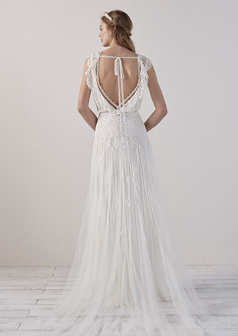 ECO (2) gown from the 2019 Pronovias collection, as seen on Bride.Canada