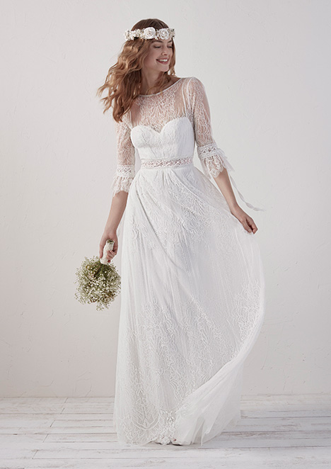 EDEL gown from the 2019 Pronovias collection, as seen on Bride.Canada