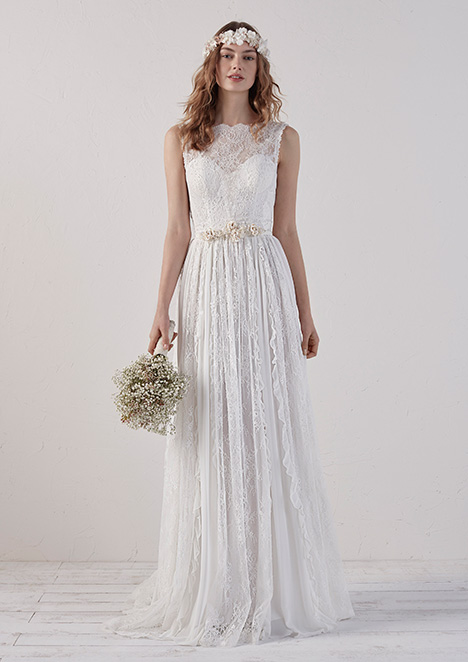 EIRAN gown from the 2018 Pronovias collection, as seen on Bride.Canada