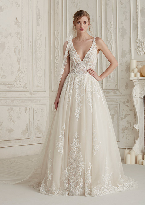 EMA gown from the 2019 Pronovias collection, as seen on Bride.Canada