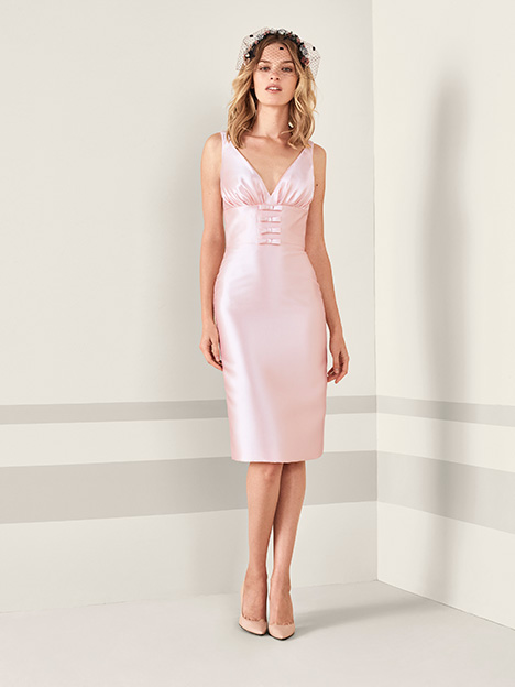 JACIA gown from the 2019 Pronovias : Cocktail collection, as seen on Bride.Canada