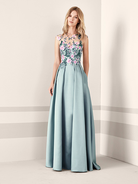 JANIRA gown from the 2019 Pronovias : Cocktail collection, as seen on Bride.Canada