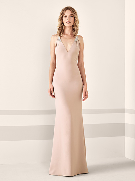 JASMIN gown from the 2019 Pronovias : Cocktail collection, as seen on Bride.Canada
