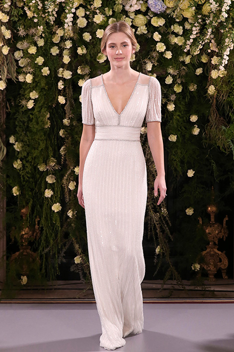 Whisper (JPB773) gown from the 2019 Jenny Packham collection, as seen on Bride.Canada