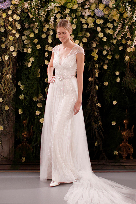 Amber (JPB751) & Ally (JPBBT746) gown from the 2019 Jenny Packham collection, as seen on Bride.Canada