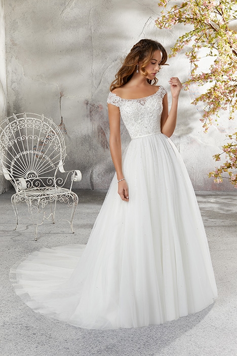 gown from the 2018 Morilee Blu collection, as seen on Bride.Canada
